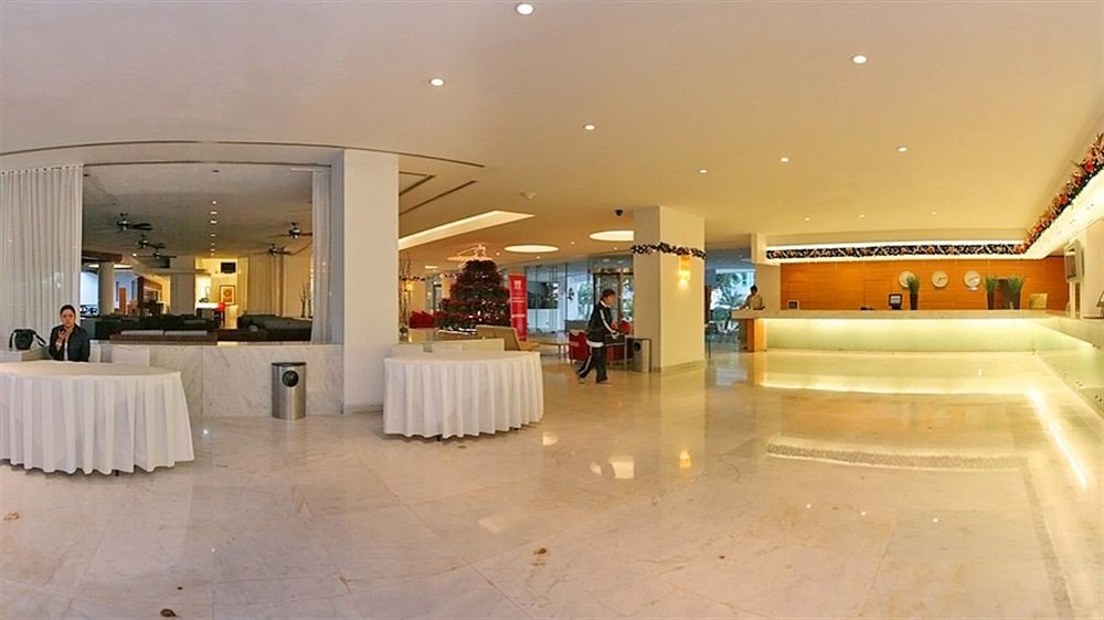 Lobby property building function hall convention center flooring