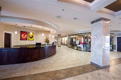 Lobby property building plaza convention center shopping mall