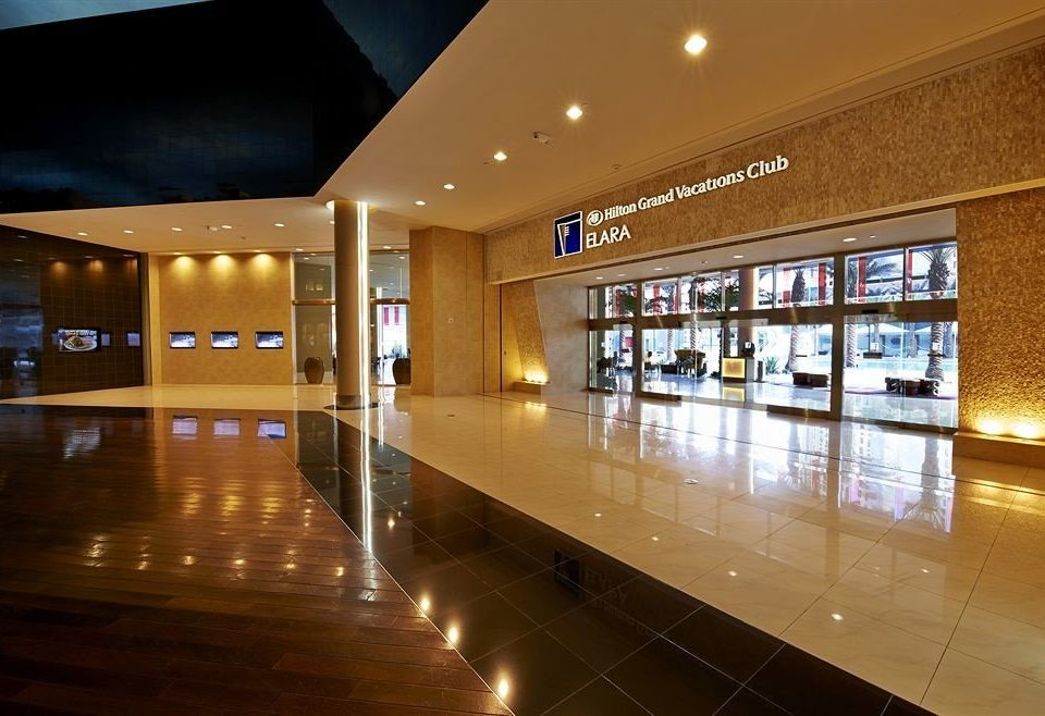 Lobby building shopping mall convention center