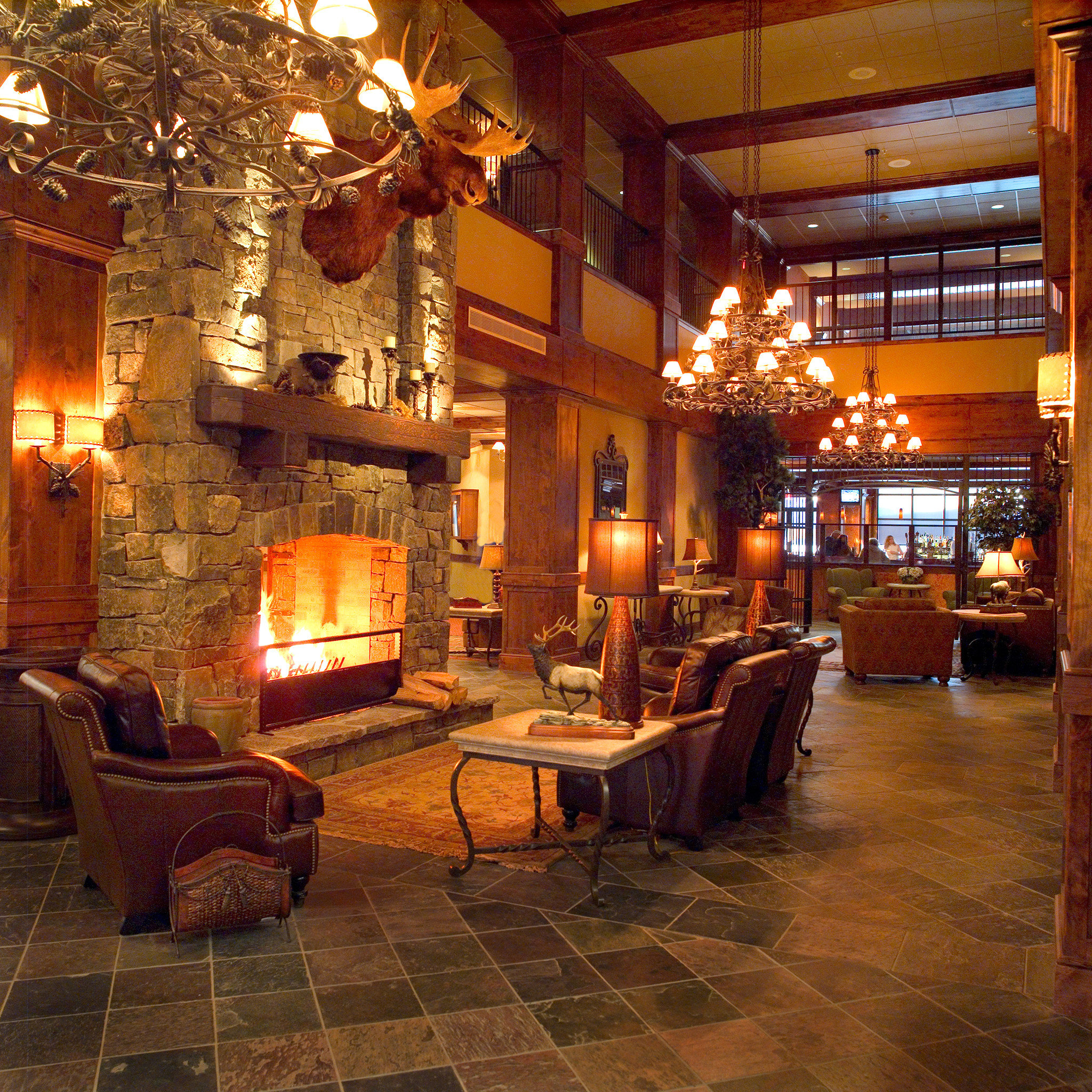 property building Lobby living room home cottage farmhouse stone