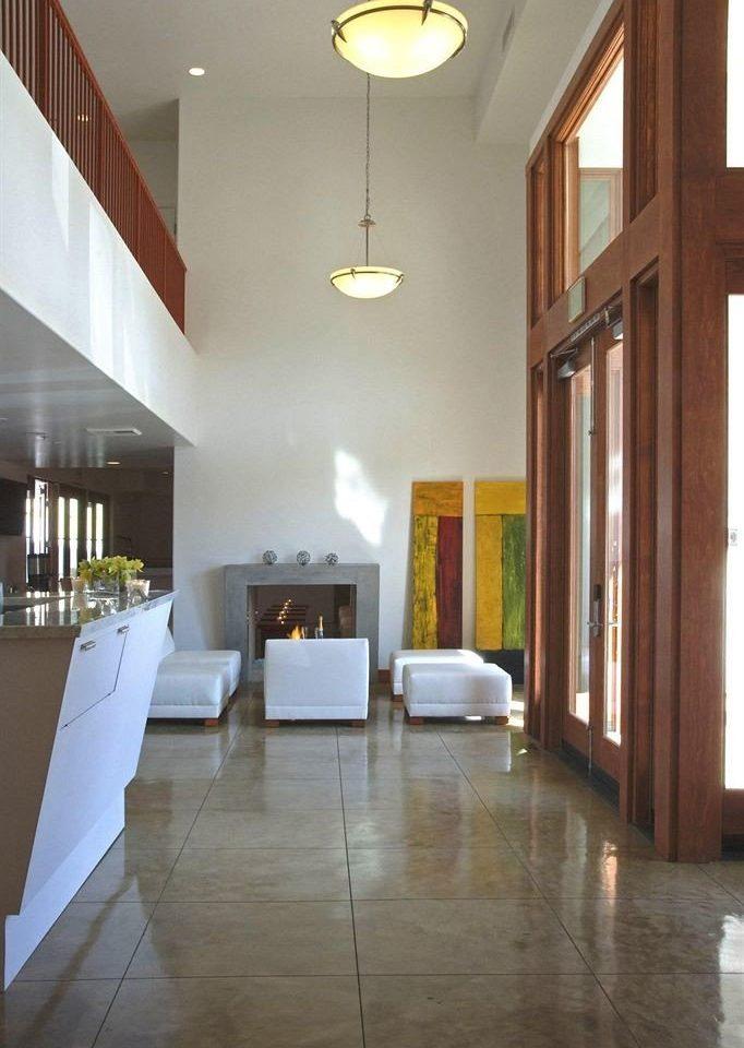 property building hardwood home flooring living room daylighting lighting wood flooring Lobby loft tile tiled