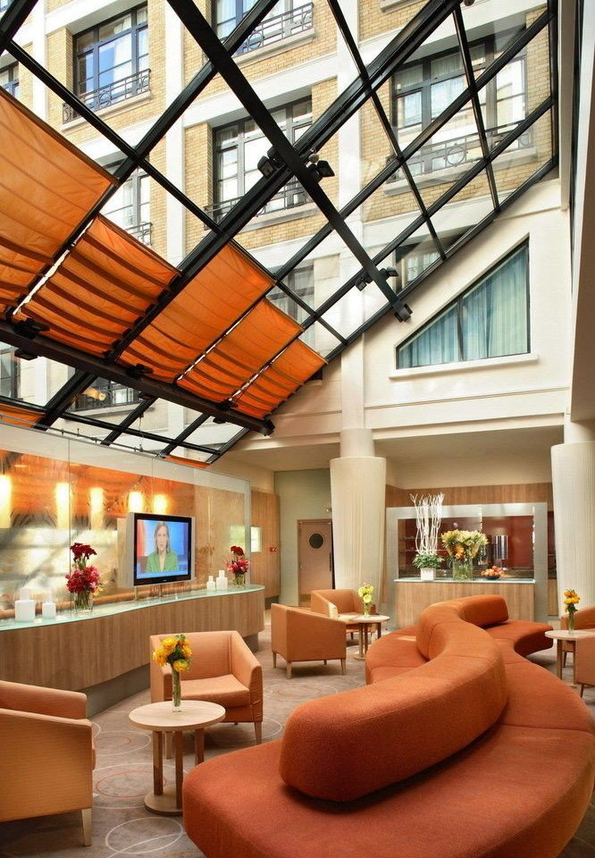 Lobby living room property building home house daylighting