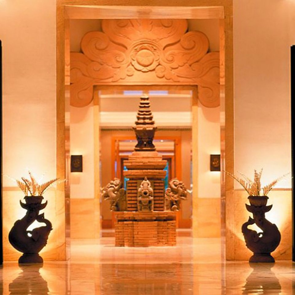 Lobby building lighting wooden hall tourist attraction flooring