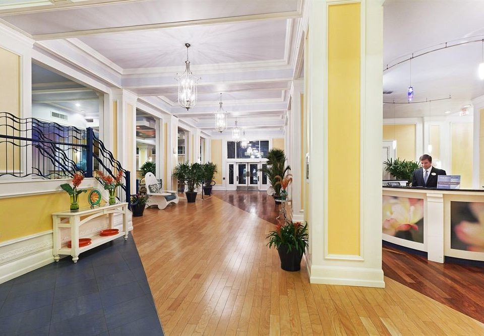property building Lobby home hall flooring office hard living room