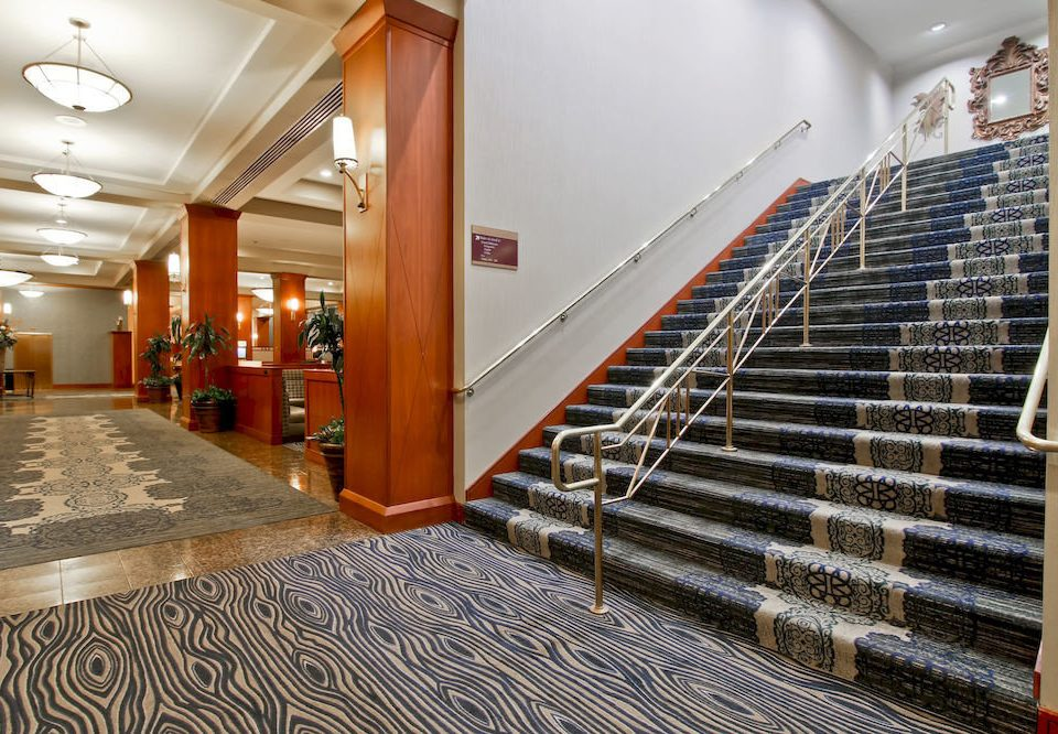 building Lobby stairs hall flooring