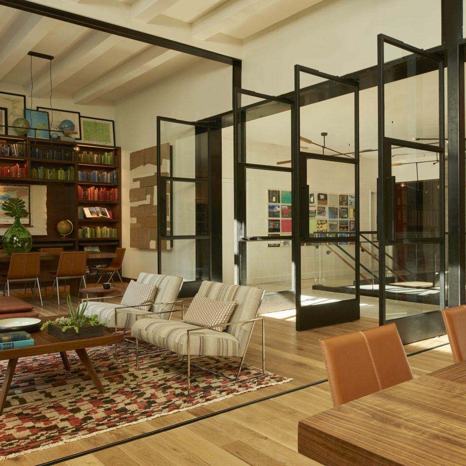Lobby building retail living room flooring