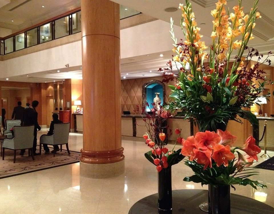 flower Lobby building floristry retail plant function hall