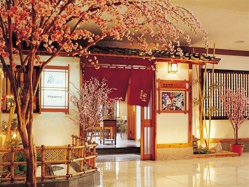 building Lobby temple restaurant function hall shrine