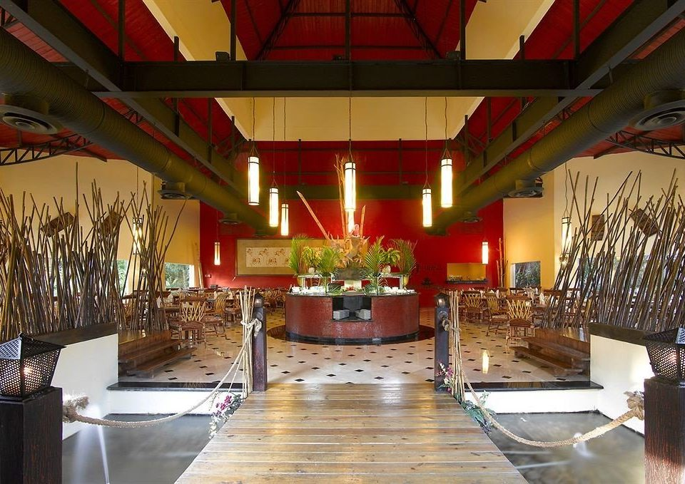 Lobby building restaurant function hall