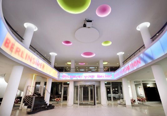 building shopping mall Lobby function hall retail