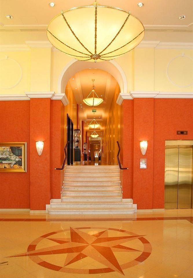 Lobby building hall