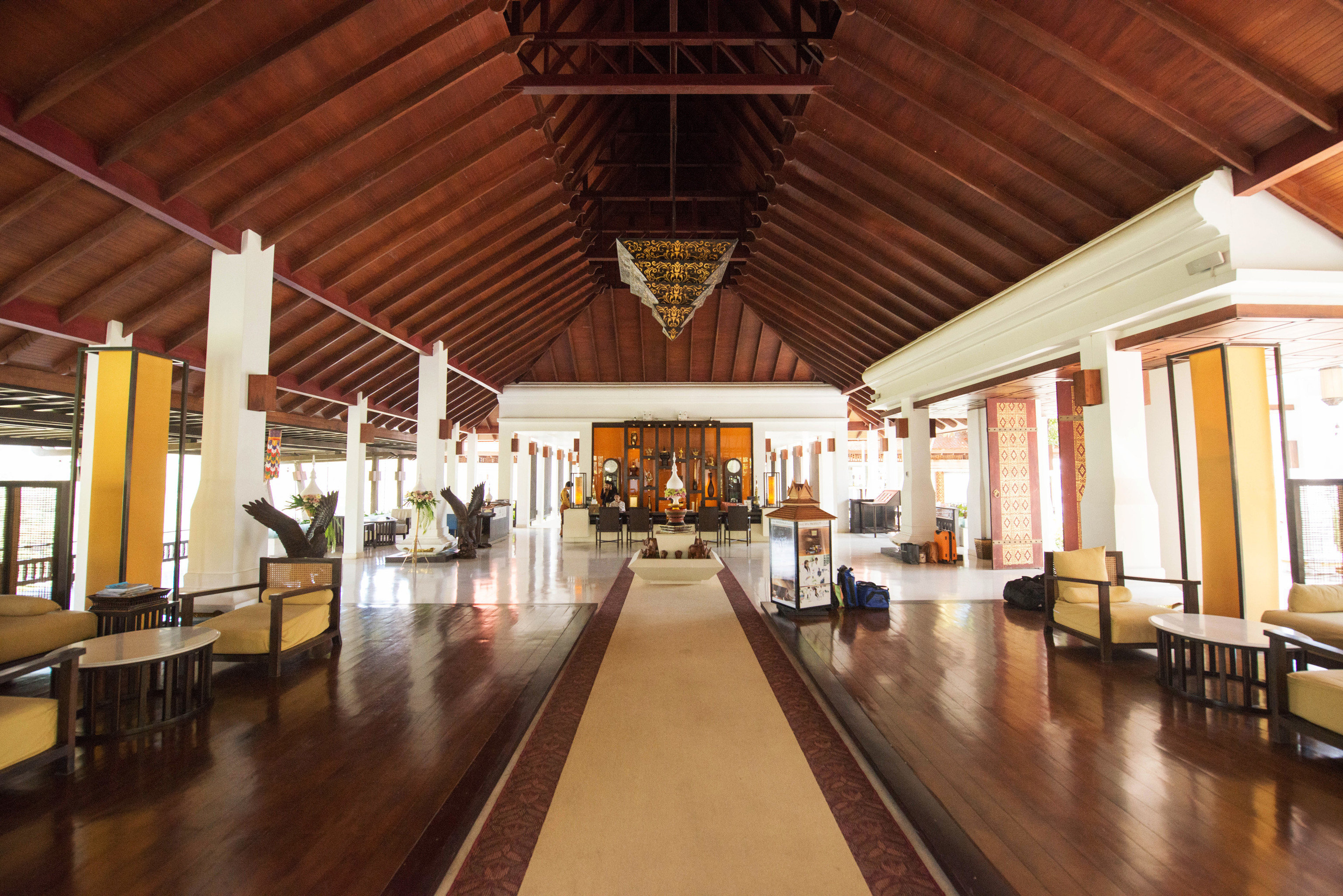 building wooden Lobby hall tourist attraction hard