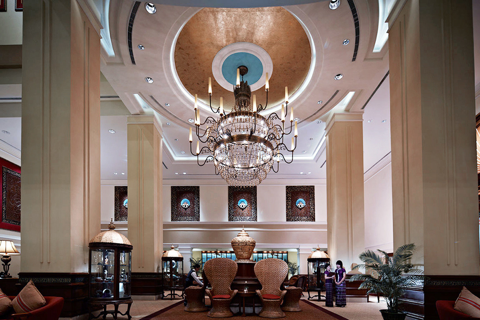 building home Lobby living room hall tourist attraction