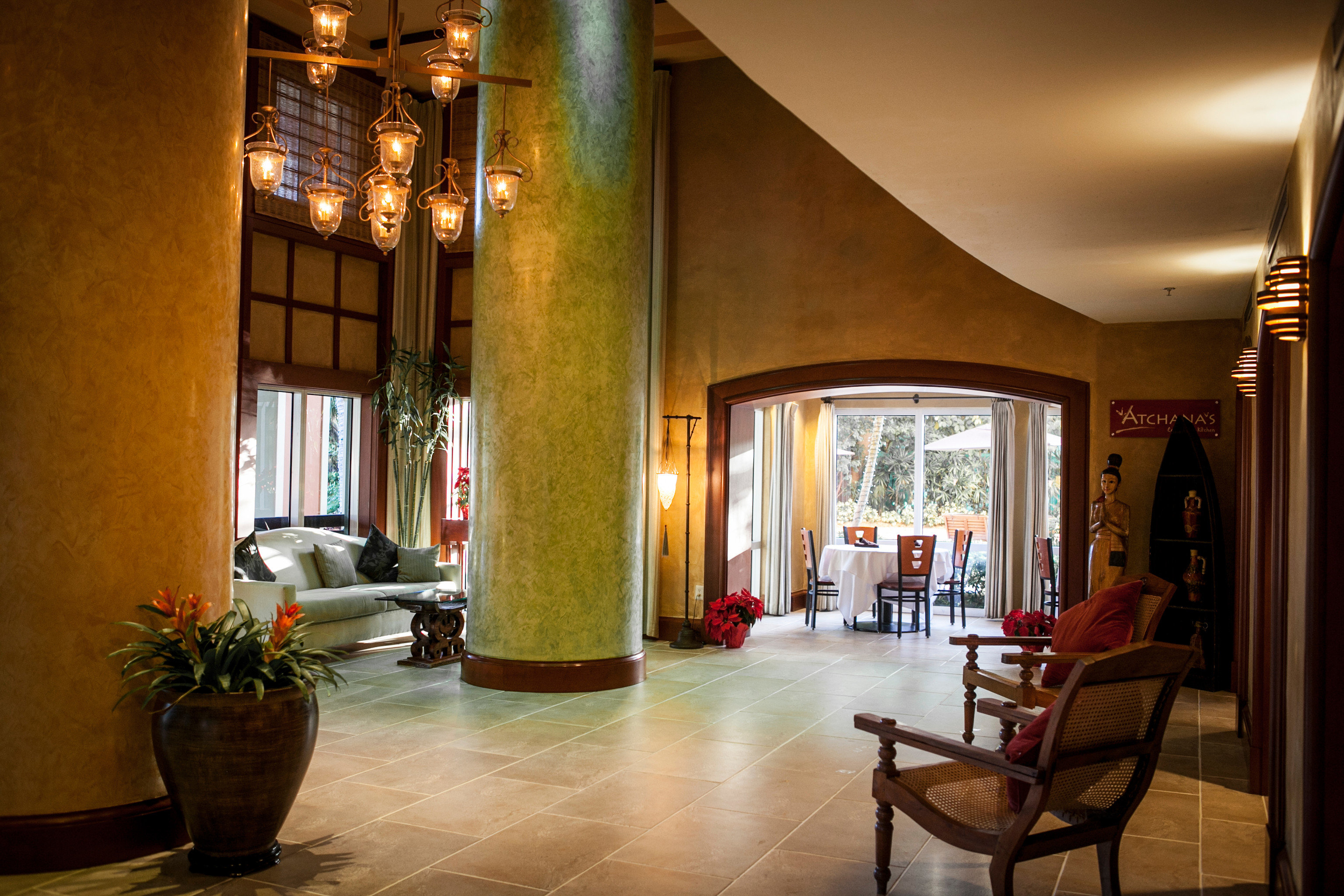 Lobby building house home living room mansion tourist attraction restaurant