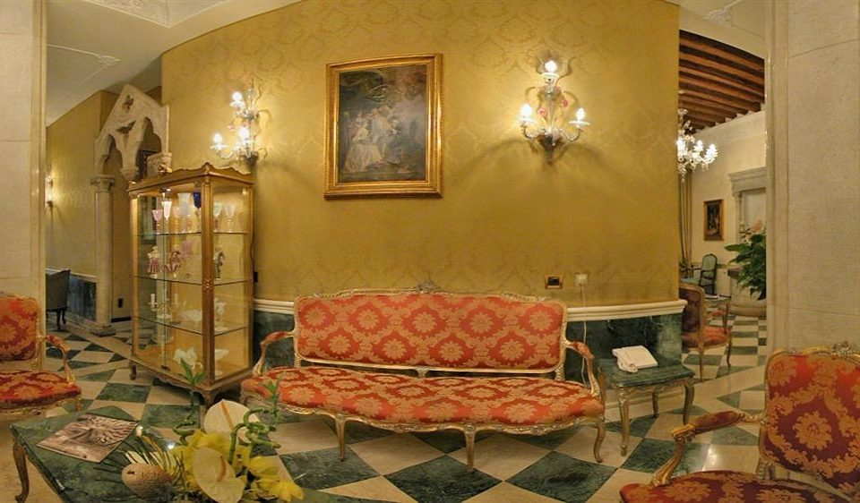 property Lobby building living room home palace mansion orange
