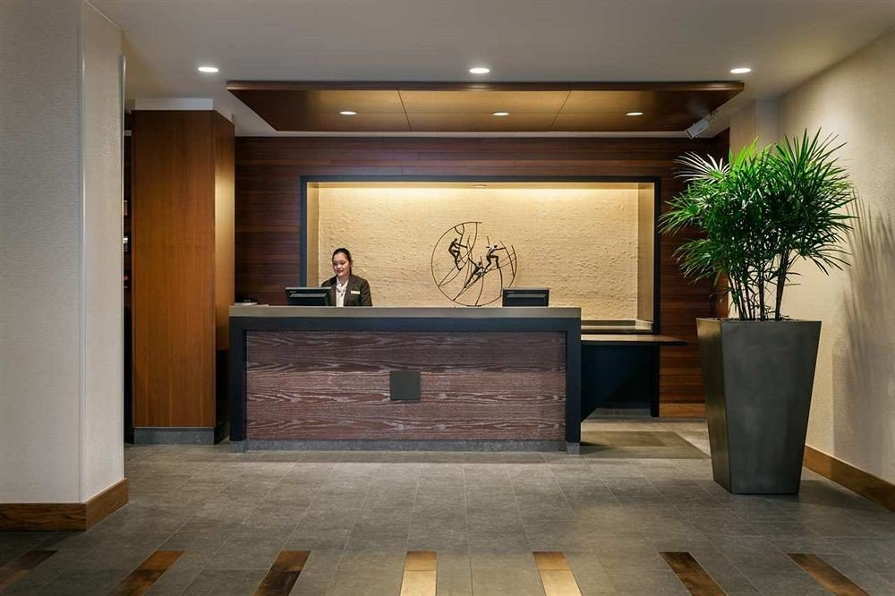 building Lobby property living room home receptionist