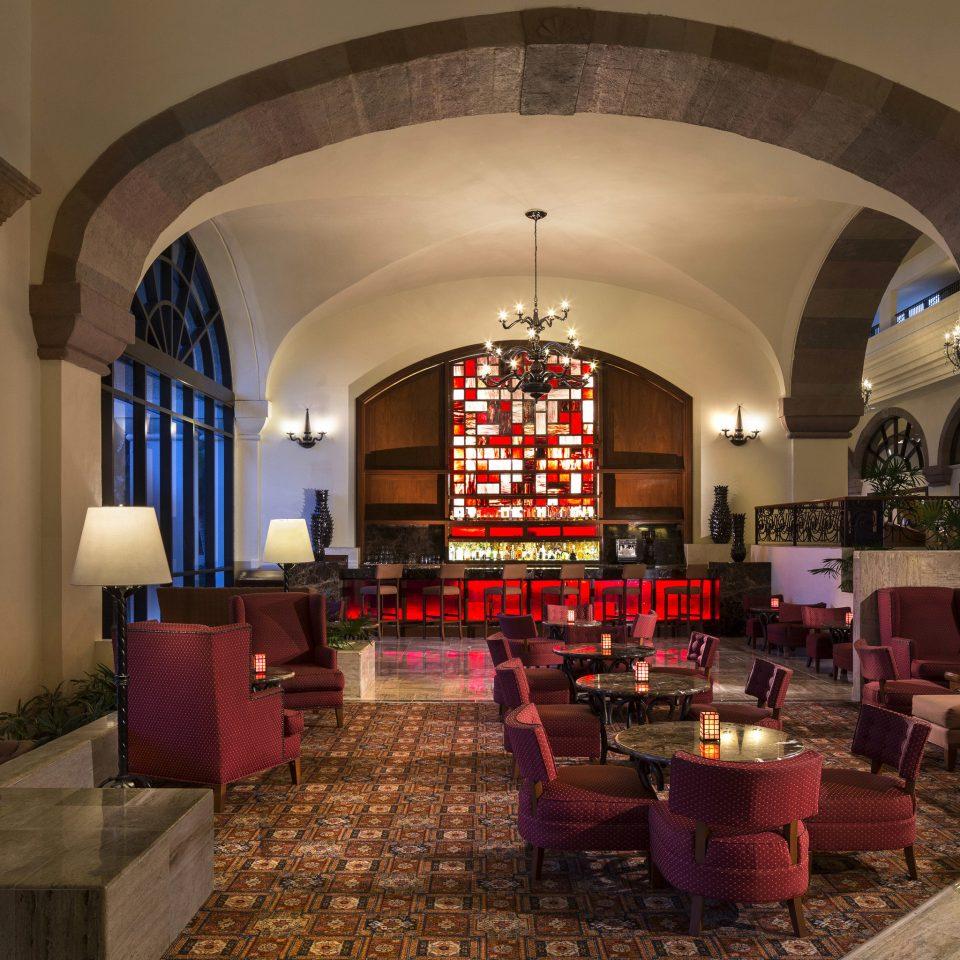 Lobby building restaurant living room mansion