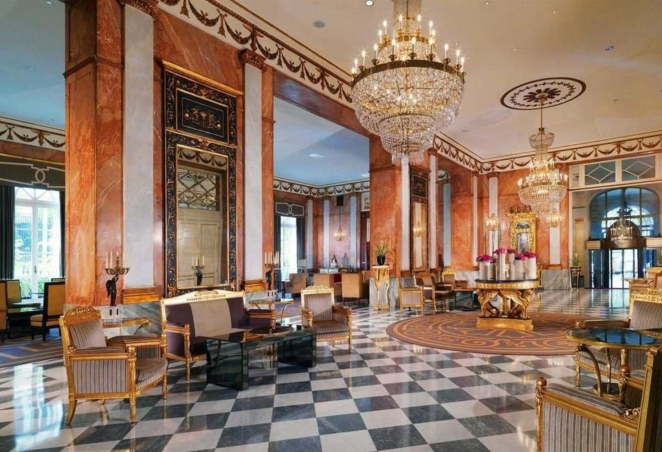 Lobby property building palace mansion synagogue restaurant