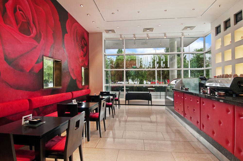 property red building restaurant Lobby