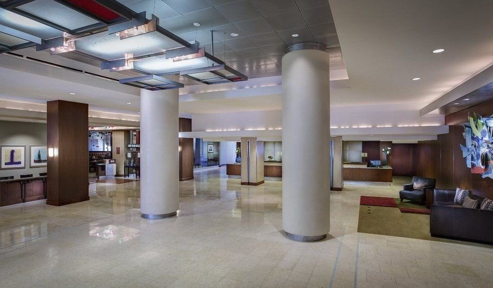 Lobby property building shopping mall