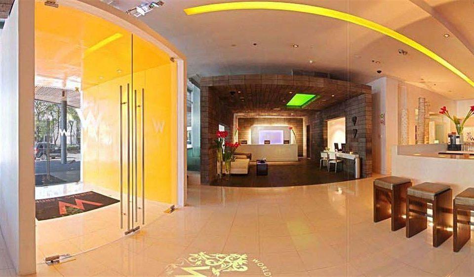 building Lobby restaurant retail