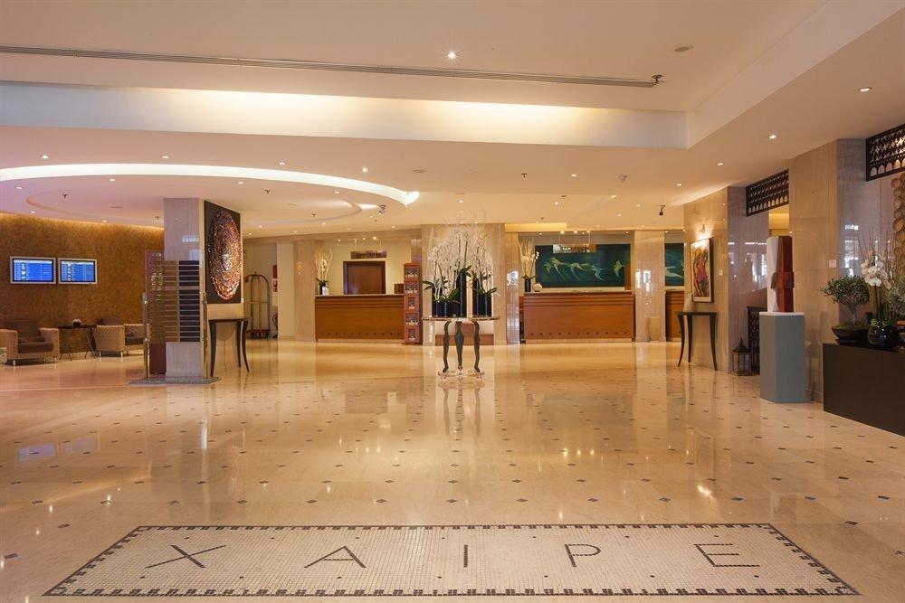 Lobby building shopping mall
