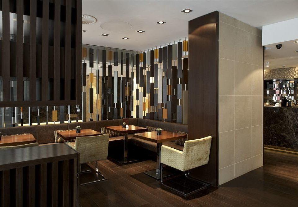 Lobby lighting cabinetry