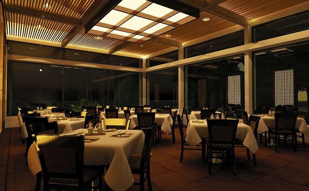 chair restaurant function hall lighting café convention center Lobby