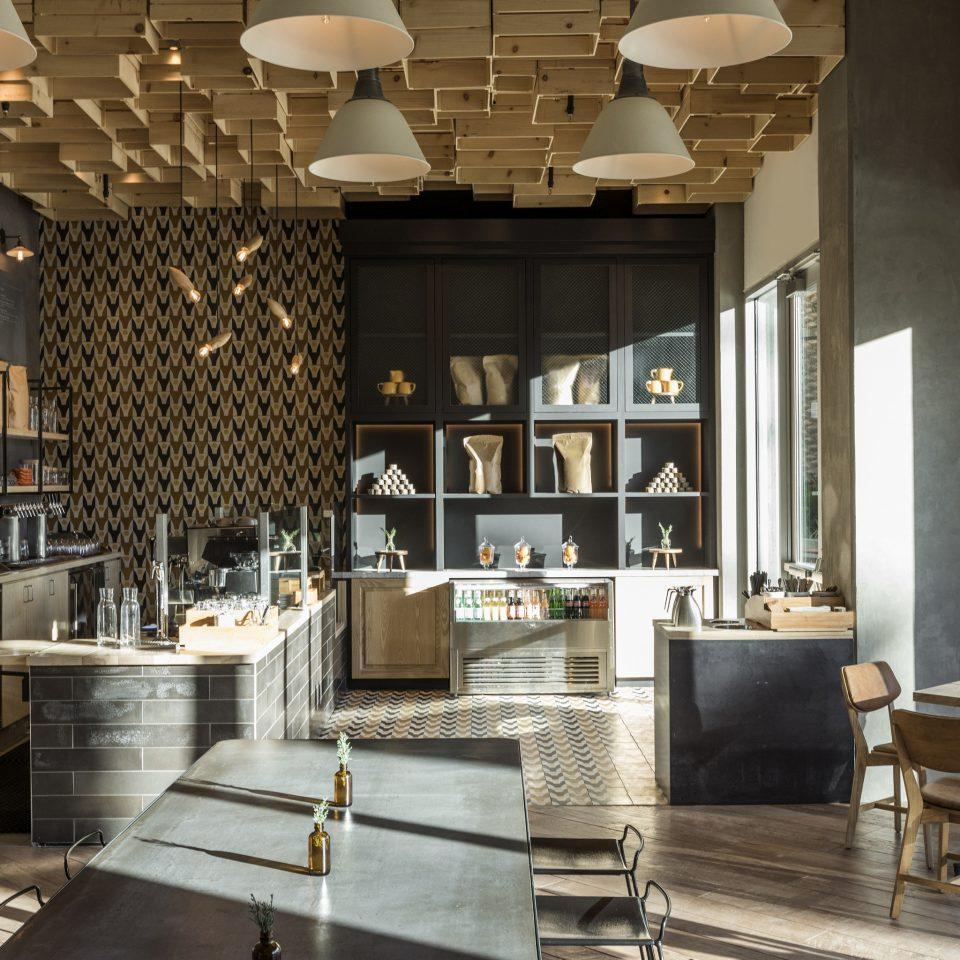 Lobby restaurant café interior designer