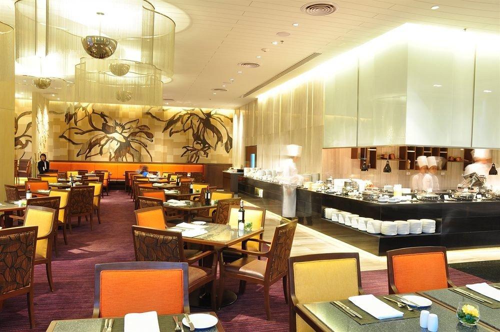 chair restaurant function hall Lobby café cafeteria convention center