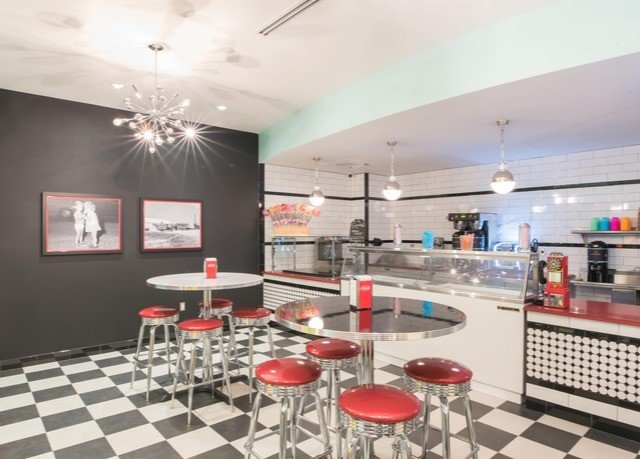 property red restaurant Lobby condominium cafeteria
