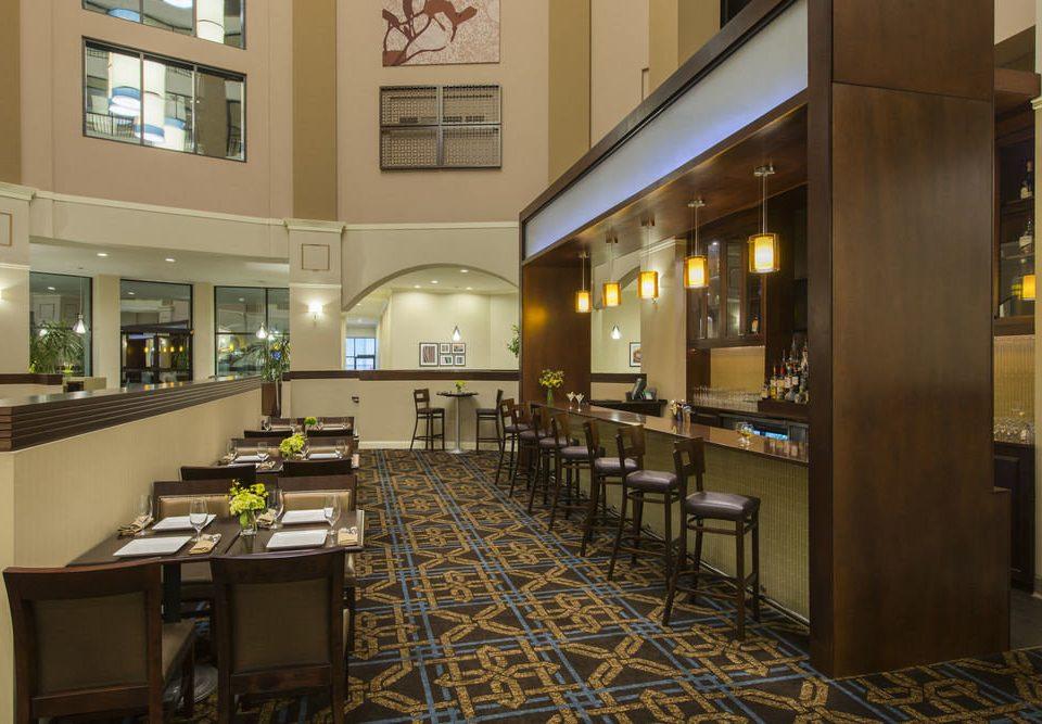 Lobby property restaurant condominium cafeteria