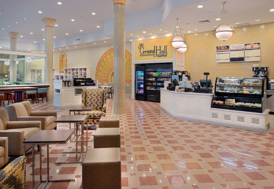 Lobby retail restaurant cafeteria shopping mall food court