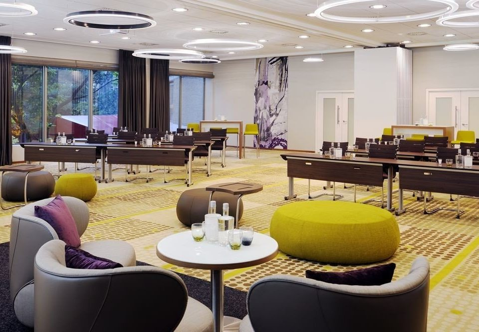 chair conference hall Lobby function hall living room convention center waiting room meeting cluttered