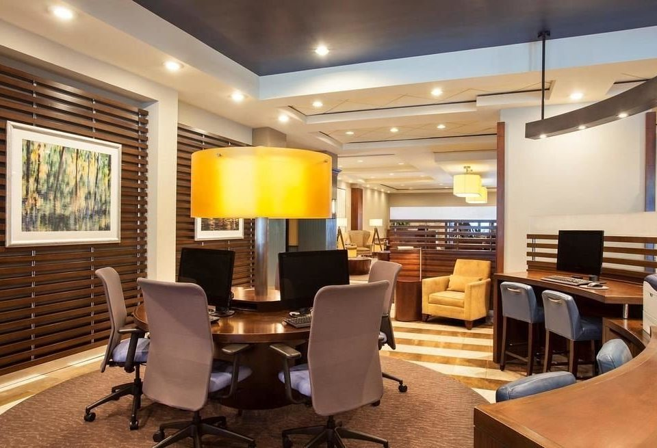 chair property living room Lobby conference hall condominium recreation room lighting home office