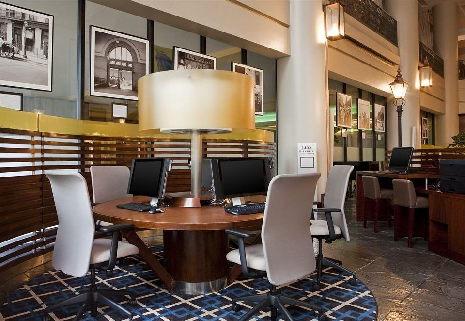 chair Lobby property restaurant conference hall condominium living room
