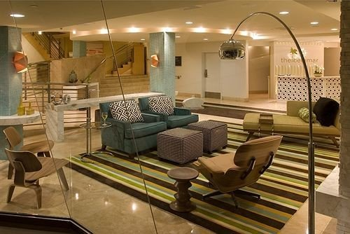 chair property living room condominium Lobby