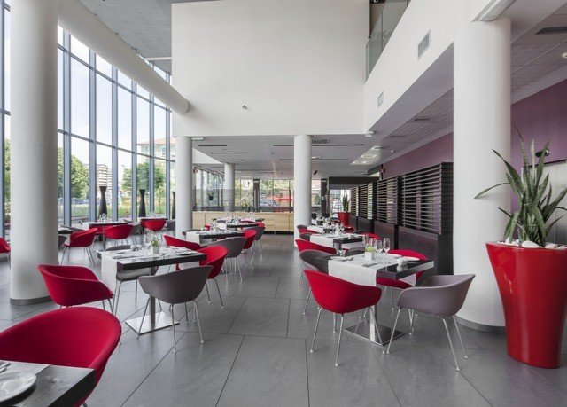 red chair property waiting room condominium Lobby office restaurant