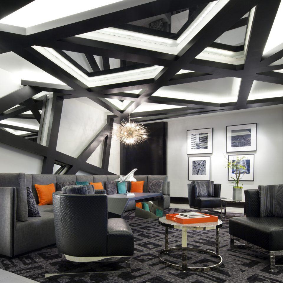 chair living room lighting office daylighting loft flooring Lobby