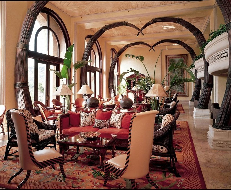 chair living room home mansion Lobby restaurant hacienda dining table