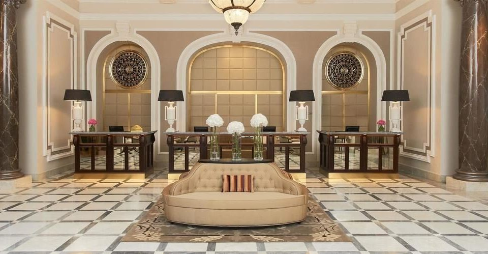 property Lobby living room mansion white palace chapel synagogue flooring hall place of worship tiled
