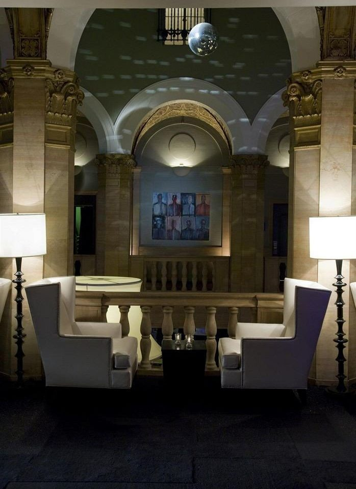 Lobby lighting chapel mansion tourist attraction synagogue