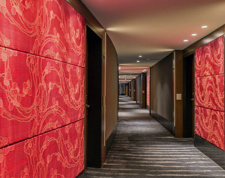 color red Lobby hall
