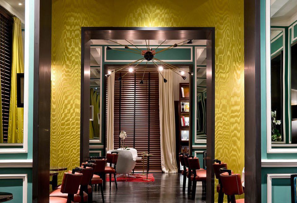 color Lobby restaurant hall