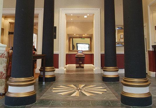 Lobby structure column lighting flooring hall tourist attraction