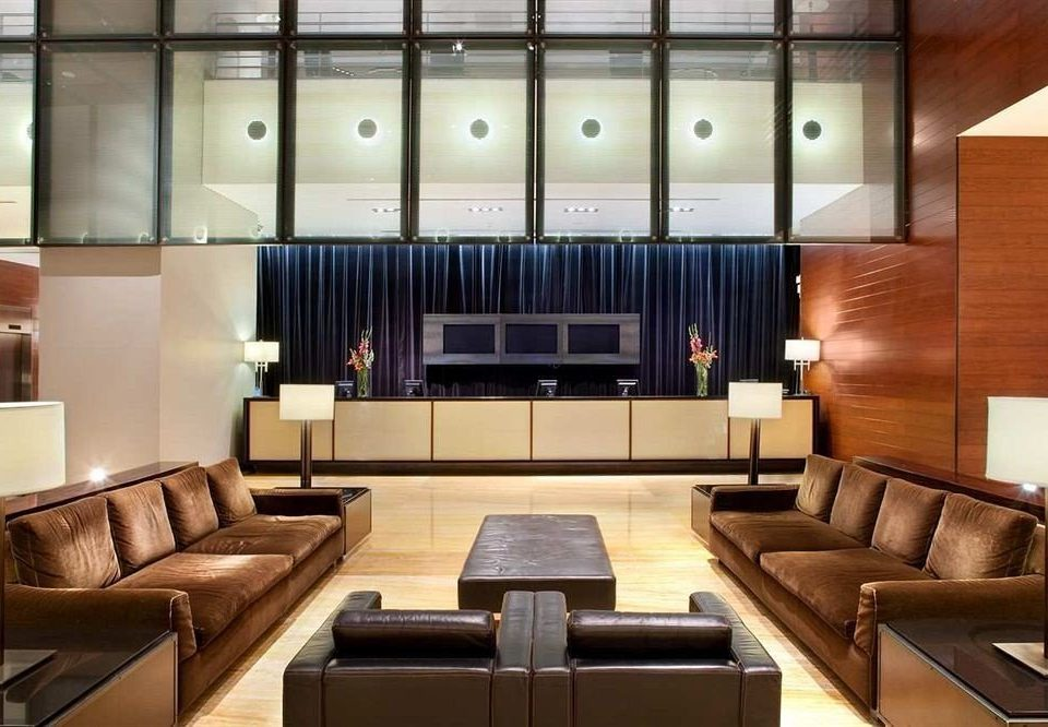 sofa living room Lobby yacht lighting condominium conference hall leather