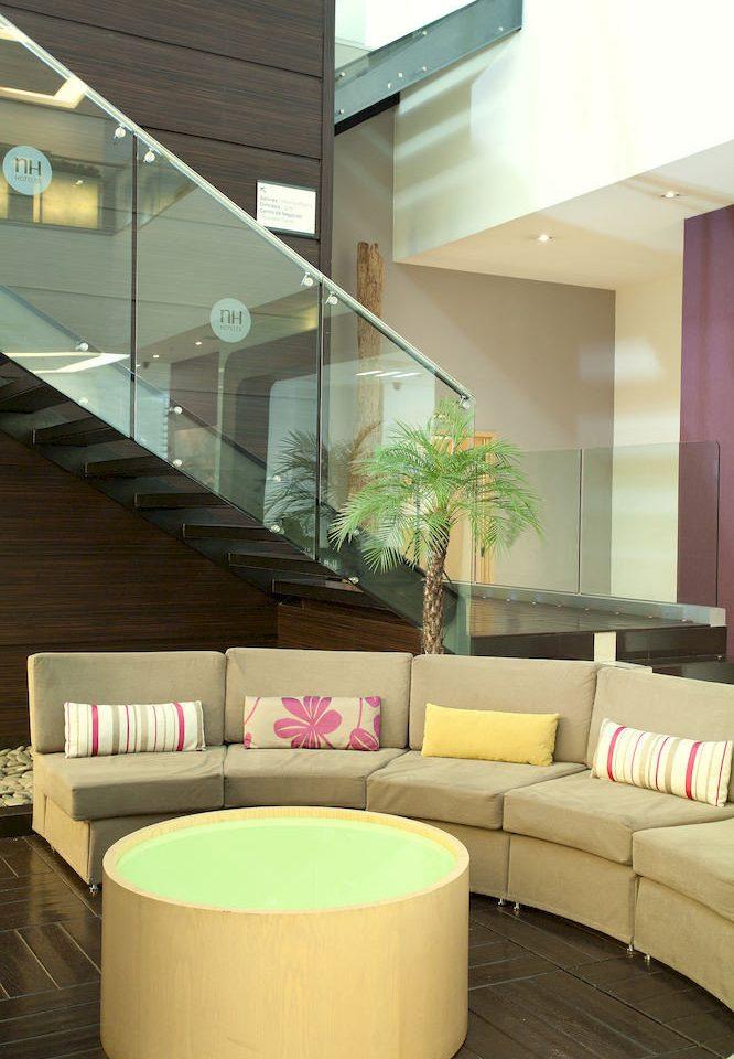 Lobby living room lighting daylighting condominium professional headquarters