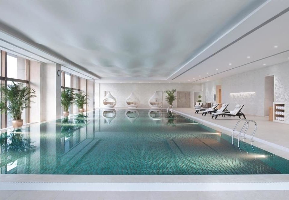 swimming pool property leisure centre Lobby daylighting mansion condominium