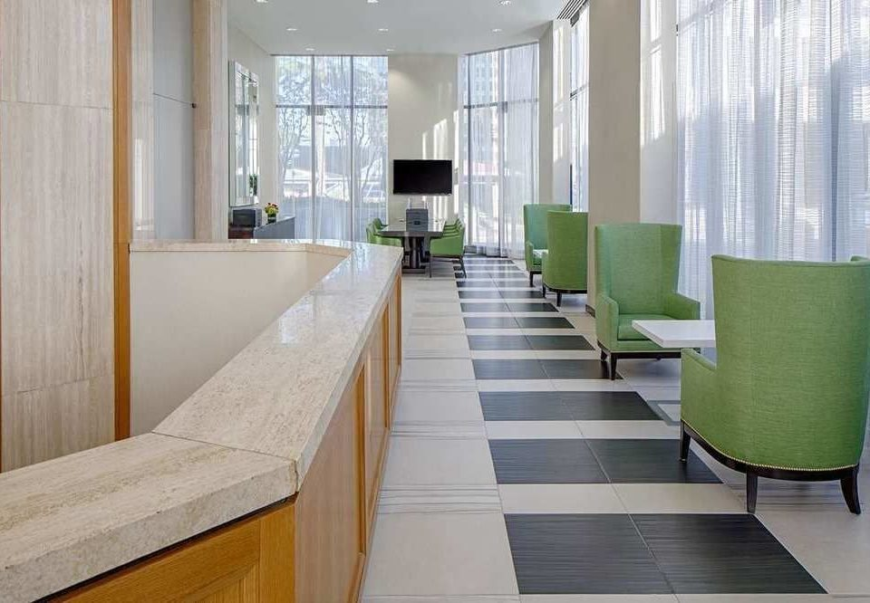 green property Lobby condominium waiting room flooring