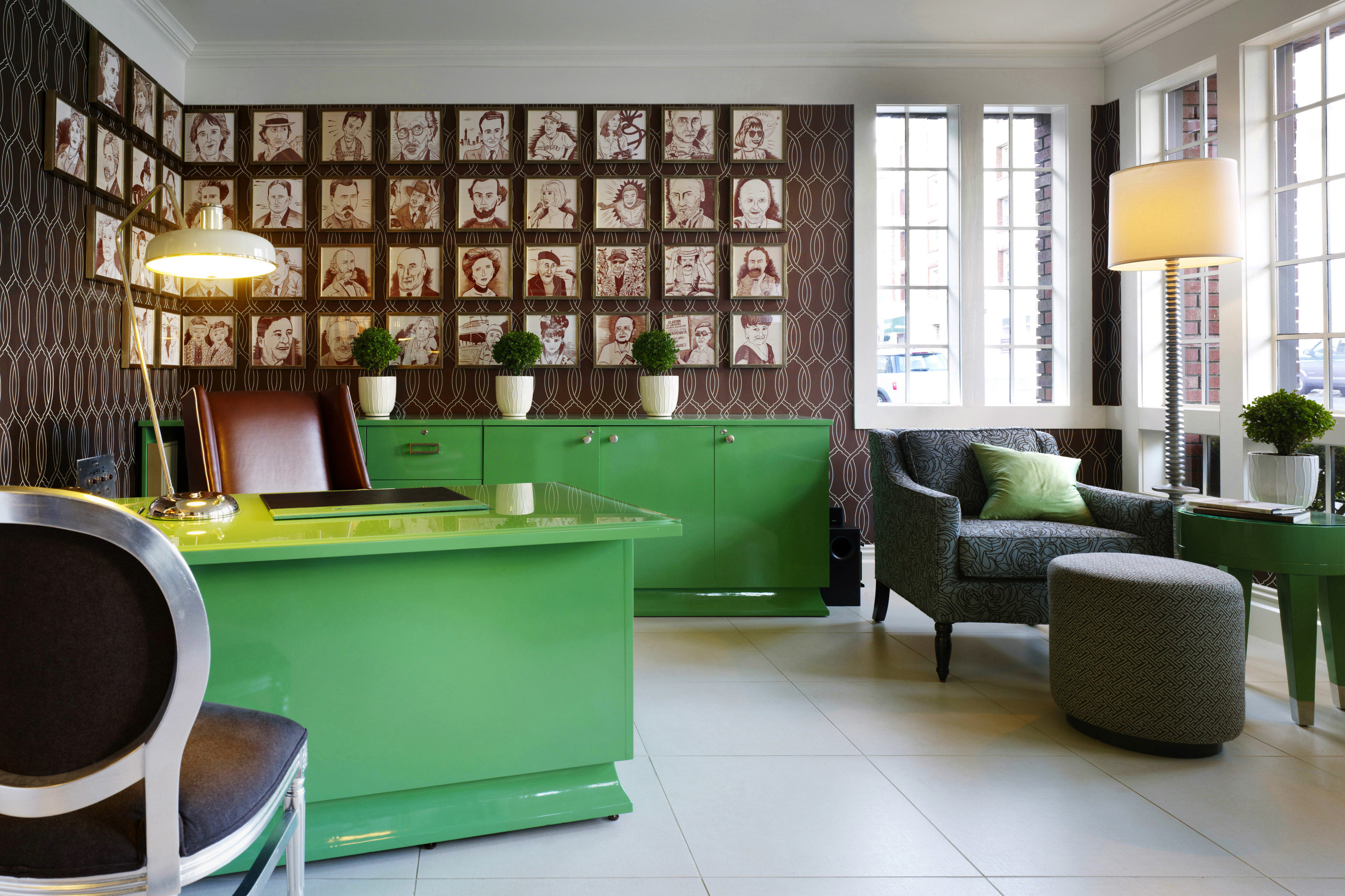 green living room property condominium home Lobby office waiting room flooring